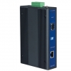 10/100/1000TX to SFP Type Fiber Optic Gigabit Industrial Media Converter
