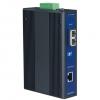 10/100/1000TX to 1000Base-LX SC Type Fiber Optic Gigabit Industrial Media Converter