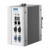 Intel® Atom™ N270 DIN-rail PCs with 2 x LAN, 3 x COM, 4 x USB