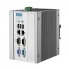 Intel® Atom™ N270 DIN-rail PCs with 2 x LAN, 3 x COM, 4 x USB, PC/104+