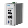 Class I, Division 2 Certified Intel® Atom™ D510 DIN-rail PC with 3 x LAN, 2 x COM, VGA, Mini-PCIe