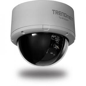 IP kaamera: kahesuunaline audio, PoE, 1280 x 1024, SD/SDHC pesa, SecurView tarkvara