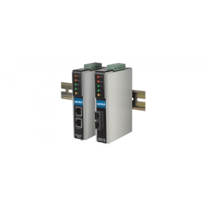 1 port RS-232/422/485 server, 2 x 10/100BaseT(X) (üks IP), 2 x DC toide, 0 kuni 55°C, opt. Isol. 2KV