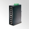 IP30 Slim type 8-Port Industrial Gigabit Ethernet Switch (-10 to 60 degree C) DIN