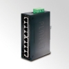 IP30 Slim type 8-Port Industrial Gigabit Ethernet Switch (-40 to 75 degree C) DIN