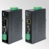 IP30 Industrial RS232/RS-422/RS485 to 100Base-FX Fiber Optic (MM, 2KM) Converter