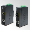 IP30 Slim type Industrial Fast Ethernet Media Converter SC MM (-40 to 75 degree C)