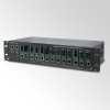 "15-slot 19"" Media Converter Chassis with Redundant Power Option"