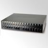 "19"" 16-slot SNMP Managed Media Converter Chassis (AC Power) with redudant power option"