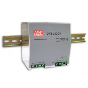 Toiteplokk DIN-liistule 3 faasiga 240W 24V