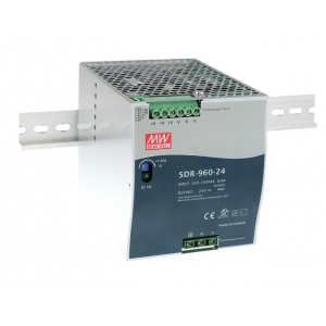 Toiteplokk DIN-liistule 960W 24V 40A