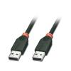 USB 2.0 kaabel A - A 10.0m, must