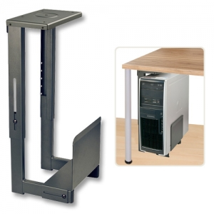 Arvuti hoidik (WxDxH) 160-220 x 450 x 340-490mm, staatiline