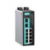 Tööstuslik ruuter: 8 x 10/100BaseT(X), 2 x 1000BaseSFP, all-in-one Firewall / NAT / router / switch, -40 kuni 75°C
