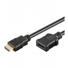 HDMI pikenduskaabel 5.0m + Ethernet, 2160p