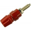 TEST SOCKET 63A 4mm BANANA RED