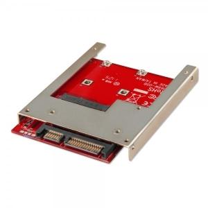 Üleminek mSATA (Mini-SATA) SSD - 2.5 SATA-le