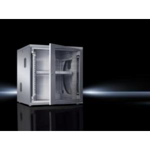 Seinakapp FlatBox 758x700x700mm, 15U klaasuks, k,l,s