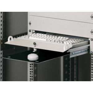 Klaviatuuri sahtel 19´´ 2U lukustatav 250mm sügav hall