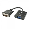 Konverter DVI-D (M) > VGA (F) 0.1m, 1080p/ 1920 x 1200