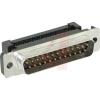D25M lintkaablile, metallkorpus  AMP HDF-20