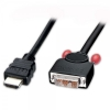 HDMI - DVI-D Single Link kaabel 1.0m
