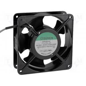 SUNON DP203A2123LBL.GN Ventilaator 230VAC 120x120x38 37dB 122 m3/h kuullaager