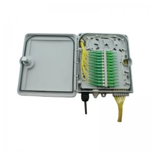FO seinakarp 12 kiudu 12xSC simplex/LC duplex jätkuplaadiga plastik IP65 tühi