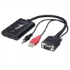 Konverter VGA + Audio > HDMI 1080p (kaablitega)