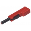 SAFETYBANANA PLUG, RED