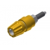 BANANA SOCKET 63A 4MM INSULATED YELLOW