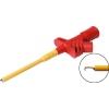 Mõõteotsik 20A 1000V, L=126mm, punane, konksuga max 5,5mm
