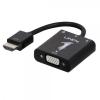 Konverter HDMI - VGA + Audio 1080p, 1920x1200, must 0.15m