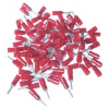 PINPLUG RED. ø1,9 L=10,0mm 0,25-1,5mm² 100tk/pk