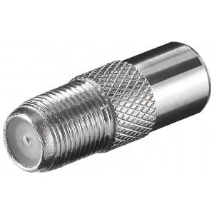 Üleminek F-pesa - antennipistik