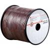 Kõlarikaabel 2x0,75mm² punane/must, OFC,100m rullis