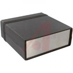 ABS-Plastic/Aluminium Instrument Enclosure 134x135x50mm Black