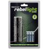 Taskulamp tecxus rebellight X130, 140 lumen, kuni 37m, fookus 1-4x, IP54