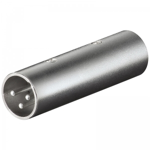 Adapter XLR (M) - (M) 3pin