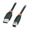 USB 2.0 kaabel A - B 0.2m, must