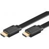 HDMI kaabel 1.0m + Ethernet, lapik, 2160p