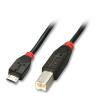 USB 2.0 kaabel Micro A - B 1.0m, must