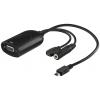 Üleminek Micro USB (MHL+) - VGA + audio (nutitelefoni ühendamiseks VGA sisendiga)