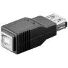 Üleminek USB 2.0 A (F) - B (F)