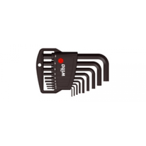 Hex L-Key Set in Classic holder 1,5-10mm BLACK
