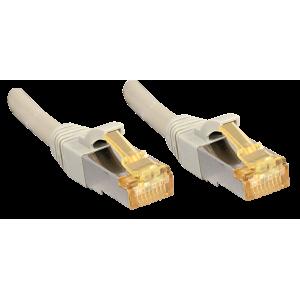 Võrgukaabel Cat7 S/FTP 1.0m, hall, PiMF, LSZH