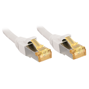 Võrgukaabel Cat7 S/FTP 1.0m, valge, PiMF, LSZH