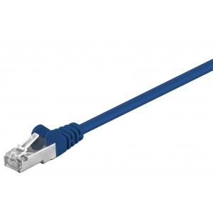Võrgukaabel Cat5e FTP 10.0m, sinine, CCA
