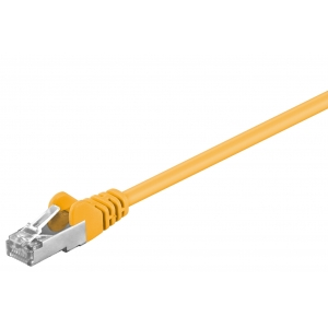 Võrgukaabel Cat5e FTP 7.5m, kollane, CCA