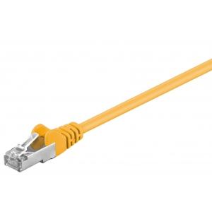 Võrgukaabel Cat5e FTP 10.0m, kollane, CCA